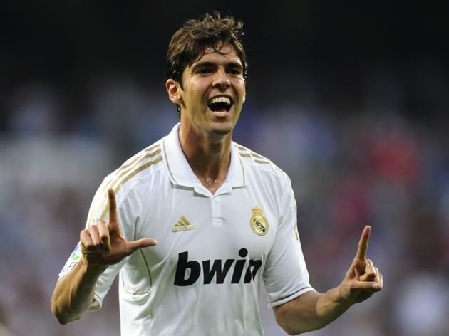 Real Madrid's Brazilian midfielder Kaka