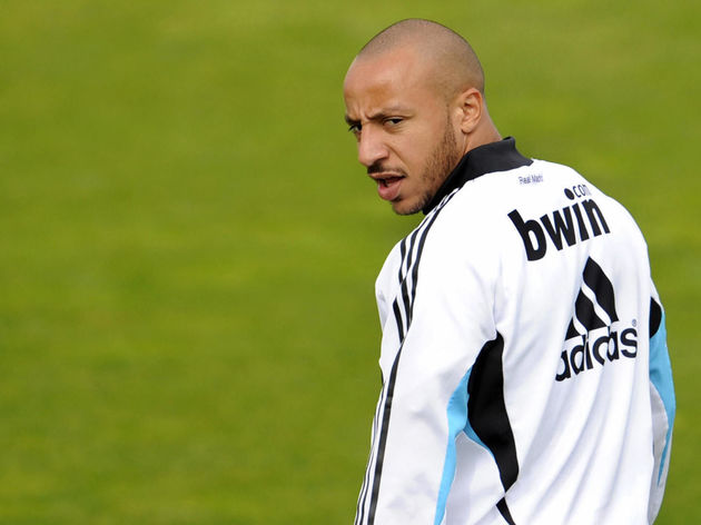 Real Madrid's French midfielder Julien F
