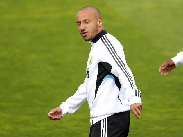 Real Madrid's French midfielders Julien