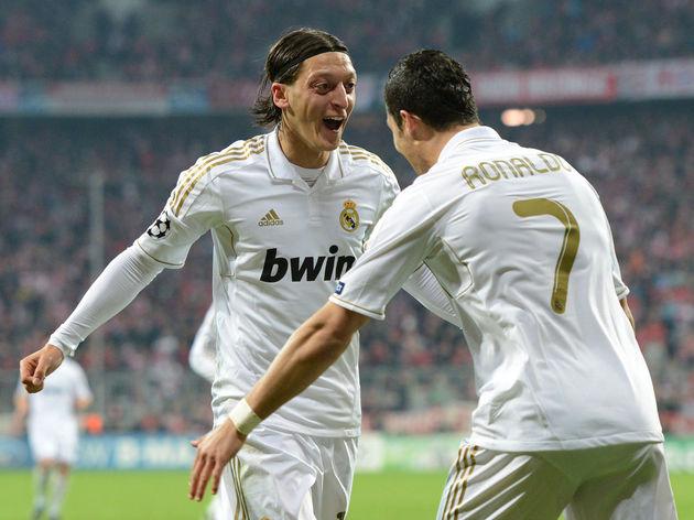 Real Madrid's German midfielder Mesut Oe