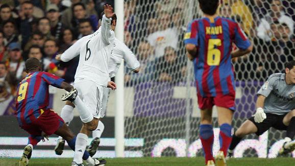 Real Madrid's goalkeeper Iker Casillas f
