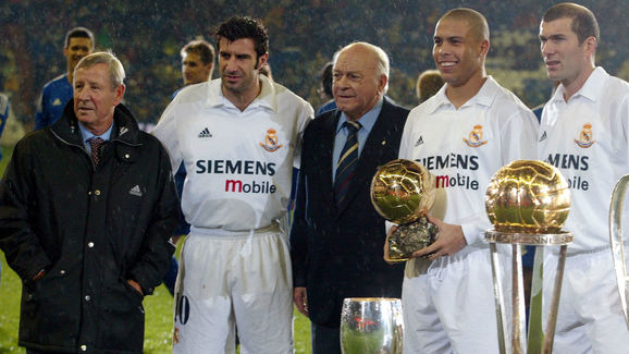 Zinedine Zidane,Raymond Coppa,Alfredo Di Estefano,Ronaldo,Luis Figo