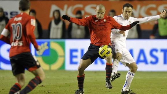 Real Madrid's Portuguese defender Ricard