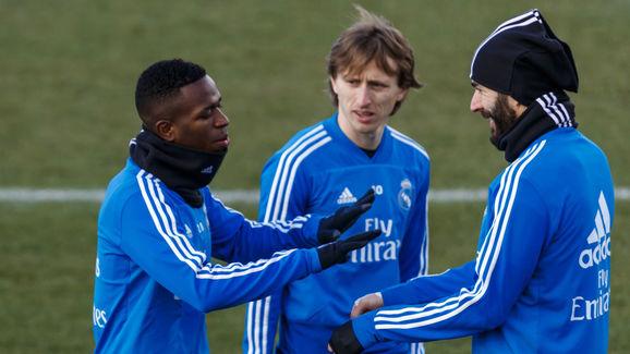 Vinicius Jr.,Karim Benzema,Luka Modric