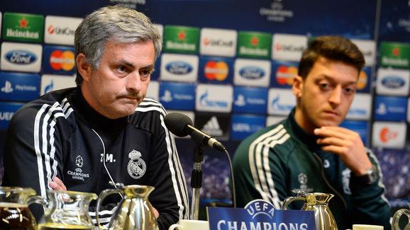 Jose Mourinho,Mesut Oezil