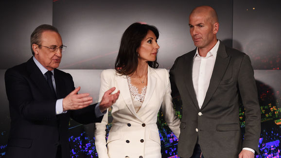 Zinedine Zidane,Veronique Zidane,Florentino Perez