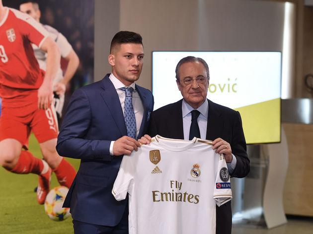 SỐC: Bom tấn Luka Jovic có thể ra đi chỉ sau ít tuần gia nhập Real Madrid