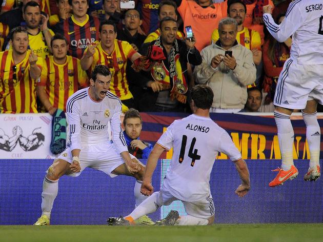 Gareth Bale,Xabi Alonso,Sergio Ramos