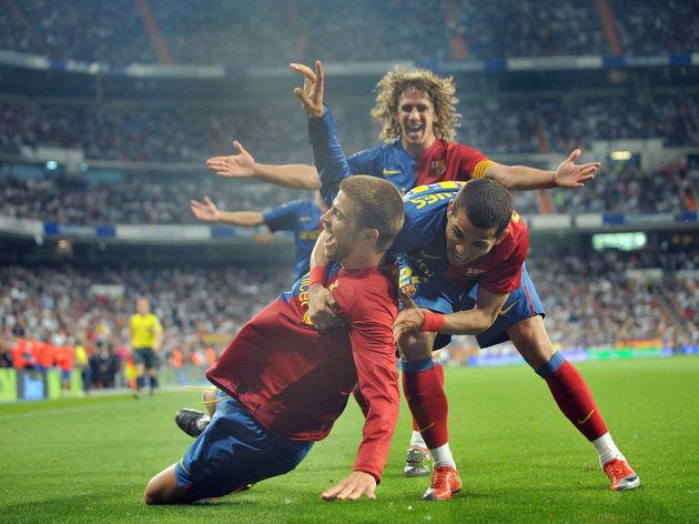 Gerard Pique,Dani Alves,Carles Puyol