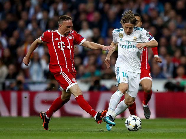 Franck Ribery,Luka Modric