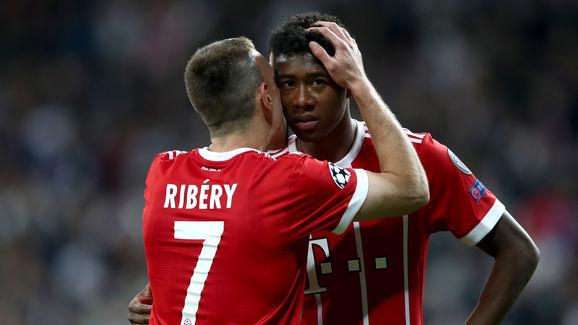 David Alaba,Franck Ribery