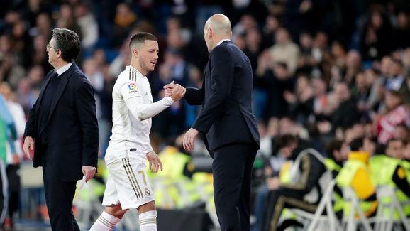 Hazard,Zinedine Zidane