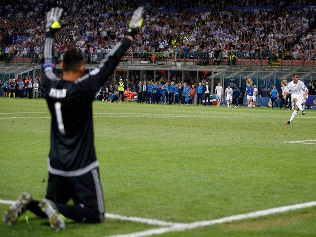 Cristiano Ronaldo,Keylor Navas