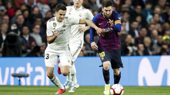 Lionel Messi,Sergio Reguilon