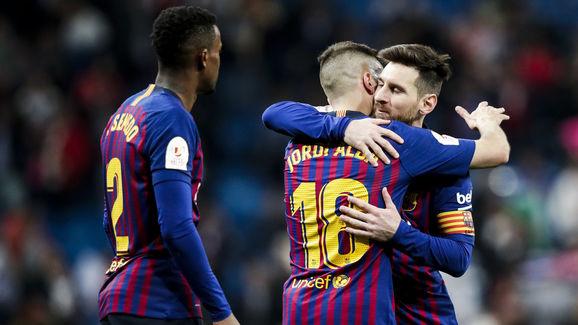 Jordi Alba,Lionel Messi,Nelson Semedo