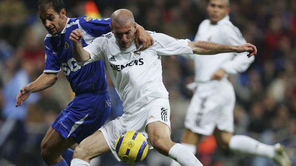 Zinedine Zidane,Raul Gonzalez