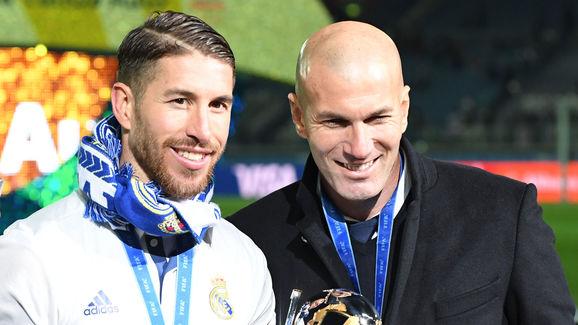 Sergio Ramos,Zinedine Zidane