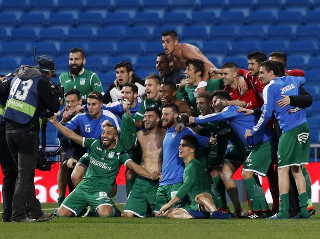 Real Madrid v Leganes - Copa del Rey, Quarter Final Second Leg