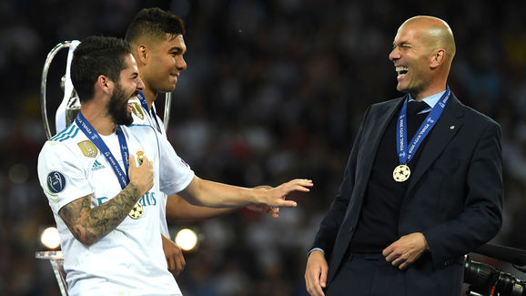 Isco,Zinedine Zidane