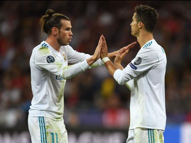 Gareth Bale,Cristiano Ronaldo