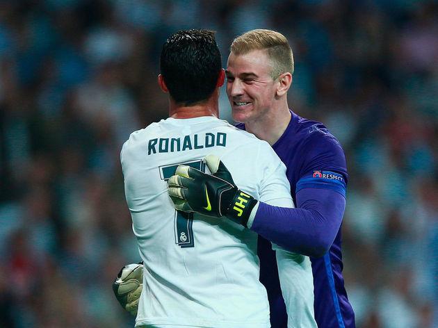 Cristiano Ronaldo,Joe Hart