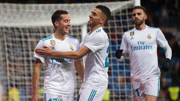 Real Madrid v Numancia - Copa Del Rey