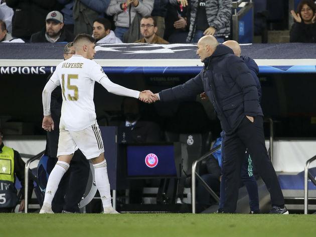 Zinedine Zidane,Federico Valverde