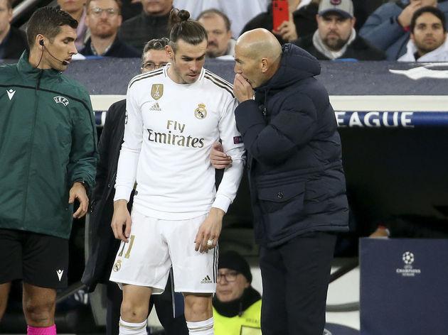 Gareth Bale,Zinedine Zidane