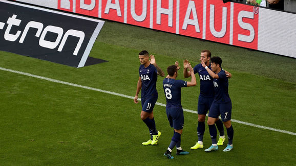 Heung-Min Son,Harry Kane,Harry Winks,Erik Lamela