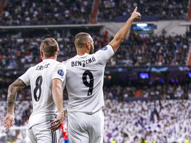Real Madrid v Viktoria Plzen - UEFA Champions League