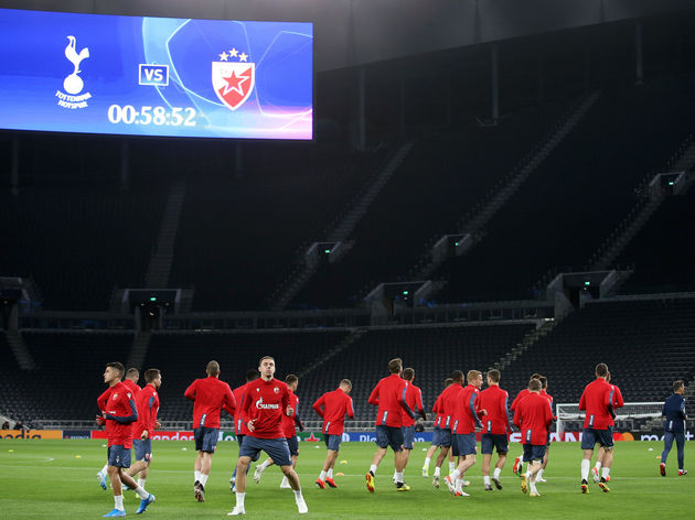 Red Star Belgrade Training Session