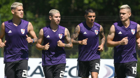 Lucas Martinez Quarta,Gonzalo Montiel,Enzo Perez,Rafael Santos Borre