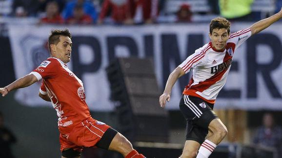 River Plate v Argentinos Juniors - Superliga 2017/18