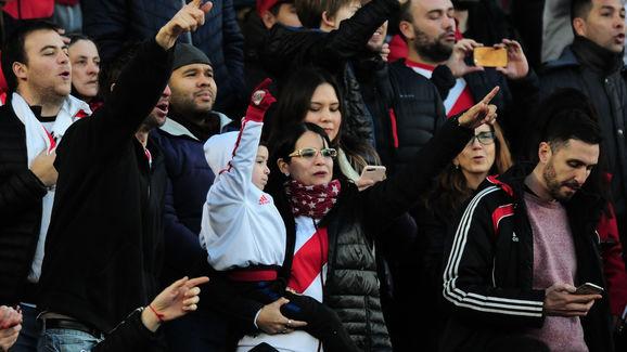 River Plate v Lanús - Superliga Argentina 2019/20
