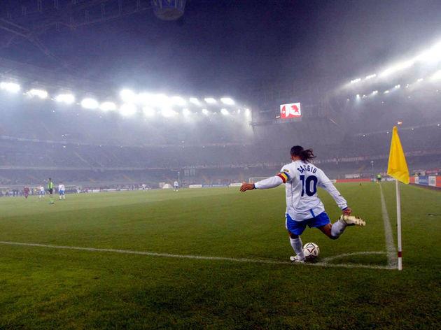 Roberto Baggio of Brescia
