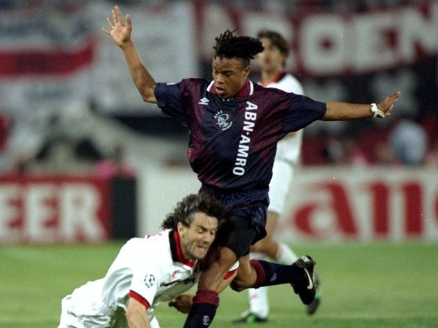 Roberto Donadoni and Edgar Davids