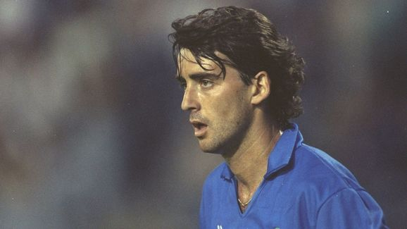 Roberto Mancini of Sampdoria