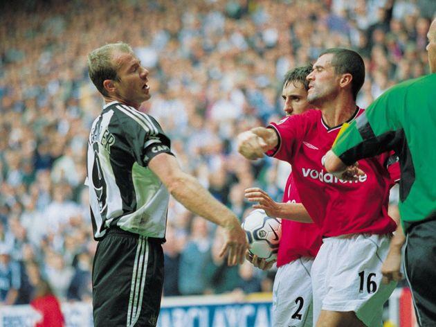 Roy Keane Alan Shearer