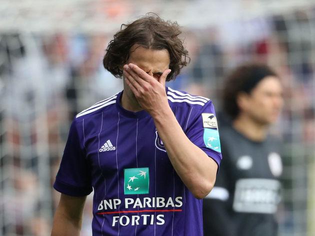 Rsc Anderlecht v Standard de Liege