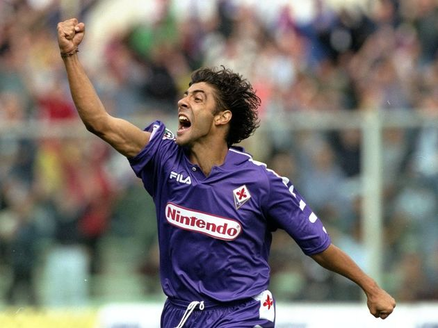 Rui Costa of Fiorentina celebrates