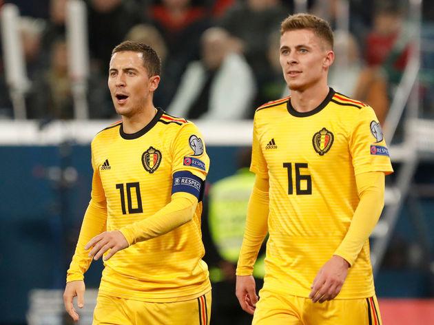 Russia v Belgium - UEFA Euro 2020 Qualifier
