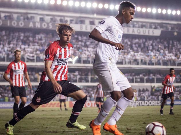 Santos v Estudiantes ARG - Copa CONMEBOL Libertadores 2018