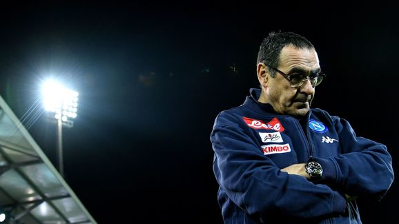 Sarri has a strained relationship with the Napoli owner
