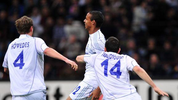 Schalke's midfielder from Cameroon Joel