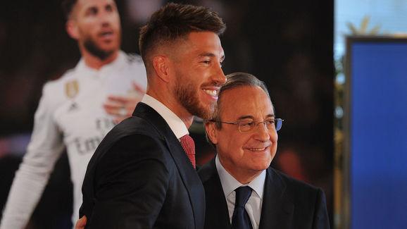Florentino Perez,Sergio Ramos