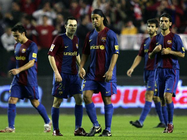 Ronaldinho,Andres Iniesta