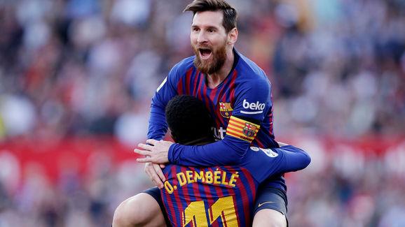 Lionel Messi,Ousmane Dembele