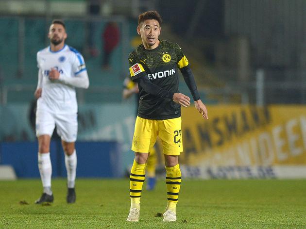 SF Lotte v Borussia Dortmund - Friendly Match
