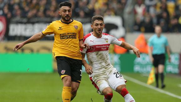 SG Dynamo Dresden v VfB Stuttgart - Second Bundesliga