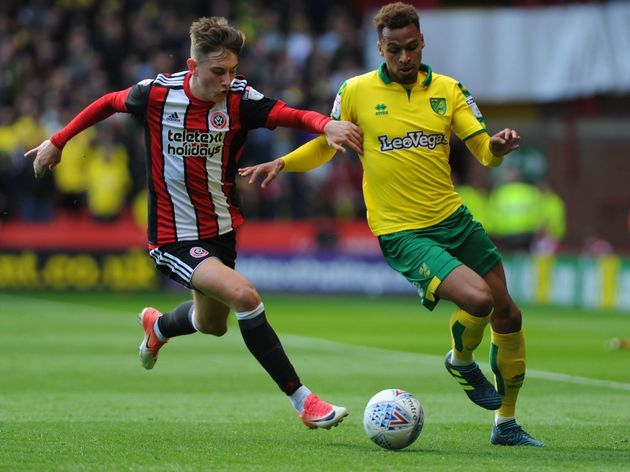 Sheffield United v Norwich City - Sky Bet Championship  Journalist Claims Tottenham are Eyeing Move for £12m-Rated Championship Youngster This Summer process url https 3A 2F 2F90min images original